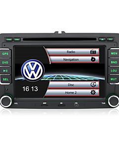 "7 ""2 DIN-Touchscreen-LCD-Auto-DVD-Player für Volkswagen mit CAN-Bus-, Bluetooth-, GPS-, iPod-Eingang, RDS, Radio, atv"