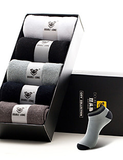 DOUBLE LIONS® Herren Baumwolle Socken 5 / box-MM0030