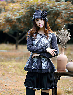Our Story Women's Solid Black SkirtsSimple Above Knee