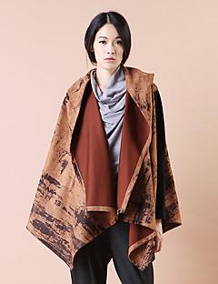 Yishidian® Damen Hemdkragen Lange Ärmel Pullover & Cardigan Braun-YSD1588W1