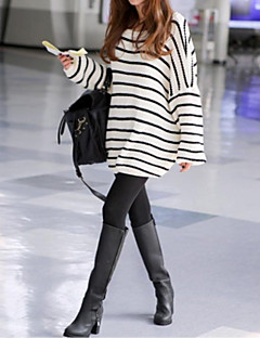 Maternity's Fashion And Joker Loose Stripe Warm Sweater
