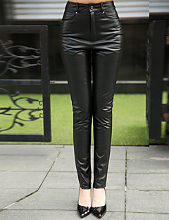 Genuine Lambskin Leather Sexy Trouser for Women Genuien Leather Pant 5521