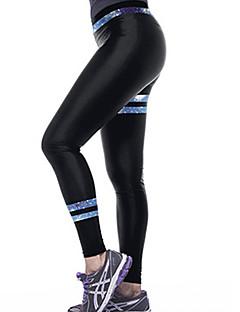 Women Cross - spliced Legging,Polyester Spandex