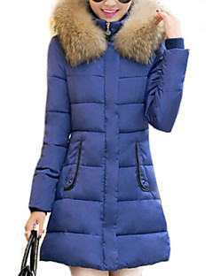 Women's New Arrival Korean Slim Long Sleeve Parka Coat , Bodycon/Casual