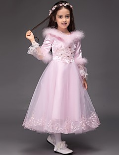 Tea-length, Flower Girl Dresses, Search LightInTheBox