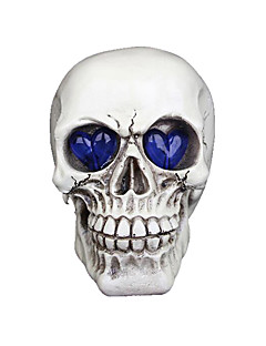 Halloween Props Skeleton/Skull Festival/Holiday Halloween Costumes White Solid More Accessories Halloween Unisex Engineering Plastic