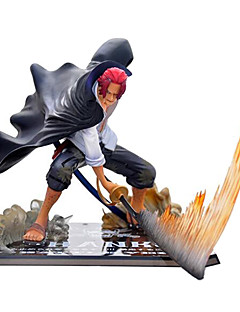 Figure ZERO Battle Red Hair Pirates Shanks Anime Action Figures Model Toy