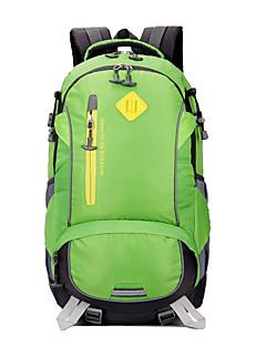40 L mochila / Mochila para Excursão Acampar e Caminhar / Viajar Ao ar Livre / EspetáculoSeca Rapidamente / Camurça de Vaca á