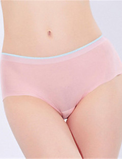 XLY Women Soft Smooth Ultra-Thin Panties Lady Cotton Seamless Panty Girl A Piece of Panties.Code 6108