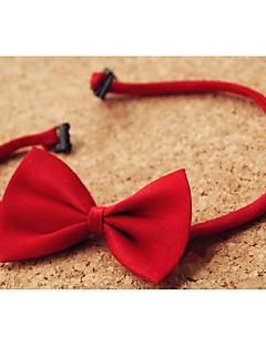 עניבות ועניבות פרפר קיץ / חורף / All Seasons שחור / אדום כותנה אורגנית בנים