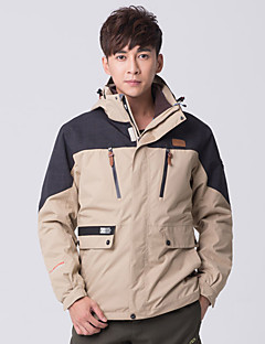 Hiking Softshell Jacket Men'sWaterproof / Breathable / Quick Dry / Windproof / Ultraviolet Resistant / Wearable