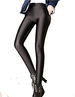 Női Egyszínű Legging,Nejlon