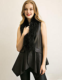 Women's Wrap Vests Faux Fur Wedding Party/Evening