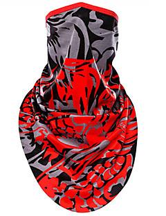 Sport Cykel/Cykelsport Face Mask Unisex Ärmlös Damm säker / Vindtät / Solskyddskräm Terylene Klassisk Röd Free Size Cykling/CykelVår /