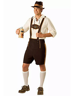 Costumes More Costumes Halloween / Oktoberfest White / Fuschia Solid Terylene Top / Pants / More Accessories
