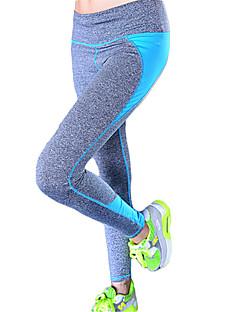 Jóga kalhoty Cyklistické kalhoty / Spodní část oděvu Prodyšné / Rychleschnoucí / Komprese / Pohodlné Přírodní Vysoká pružnostSportovní