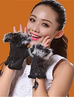 unisex akryl halv finger håndled lengthpatchwork party / arbejde / afslappet efterår / vinter