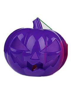 Halloween Props Dýně Festival/Svátek Halloweenské kostýmy Fialová / Oranžová Patchwork / Tisk Více doplňků Halloween UnisexTechnické