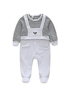 Baby Bluse,Lässig/Alltäglich Gestreift-Baumwolle-Winter / Frühling / Herbst-Blau / Weiß