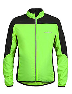 Sports Cycling Jacket Men's Long Sleeve Breathable / Lightweight Materials Bike Windbreakers Terylene