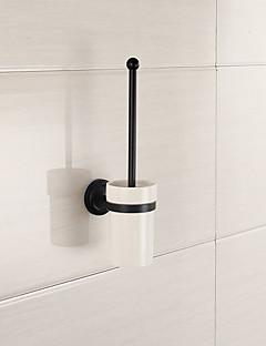 spiegel gepolijste afwerking badkamer accessoires massief messing materiaal toiletborstelhouder