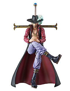 One Piece Dracula Mihawk PVC 20cm Anime Action Figures Model Toys Doll Toy 1pc