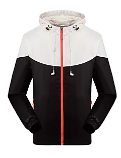 KORAMAN Men's Waterproof Windproof Full-zip Fleece Liner Hooded Windbreaker Jacket with Earphone