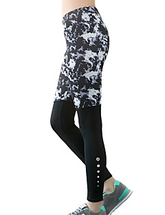 Women's Sexy Quick Dry Tights Compression Patchwork Long Sports Pants Fitness Running Yoga Leggings