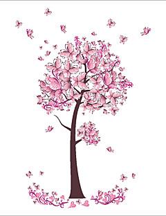Animaux / Botanique / Noël Stickers muraux Stickers avion Stickers muraux décoratifs / Stickers mariage,PVC MatérielLavable / Amovible /