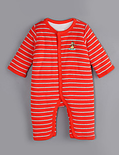 Baby Casual/Daily Striped One-Pieces,Cotton Winter / Fall Long Sleeve