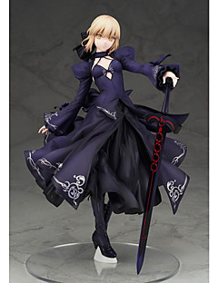 Fate/Stay Night Saber PVC 22cm Anime Action Figures Model Legetøj Doll Toy