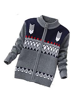 Menino de Suéter & Cardigan,Casual Estampado Cashmere / Lã Inverno / Primavera / Outono Preto / Cinza