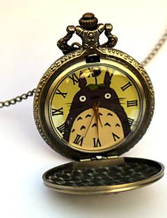 Hodiny / hodinky Inspirovaný Můj soused Totoro Eren Jager Anime Cosplay Doplňky Hodiny / hodinky Zlatá Stop Pánský