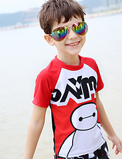 Sports Kid's Swimwear Breathable / Compression / Comfortable Two Pieces Extra Coverage & One Pieces