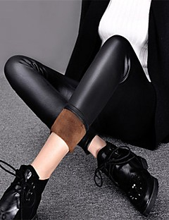 Women Fleece Lined Legging,PU