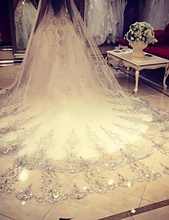 Wedding Veil One-tier Cathedral Veils Lace Net