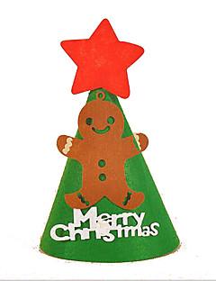 Grønn Hvit Grå Rød Grønn Papir Cosplay-tilbehør Jul