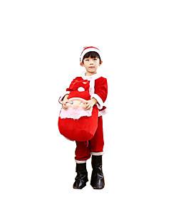Cosplay Kostumer Rød Pleuche Cosplay Tilbehør Jul
