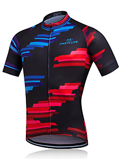 Sports Cycling Jacket Men's Short Sleeve BikeBreathable / Quick Dry / Moisture Permeability / Reduces Chafing / Sweat-wicking / Soft /