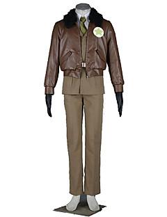 Hetalia Cosplay Costumes Top /  Coat / Shirt / Belt  / Tie /Gloves Kid