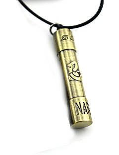 Inspired by Naruto Cosplay Anime Cosplay Accessories Necklace Golden Alloy