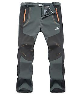 Roupa de Esqui Calças Homens Roupa de Inverno Algodão Vestuário de InvernoProva-de-Água Térmico/Quente A Prova de Vento Sem Eletricidade