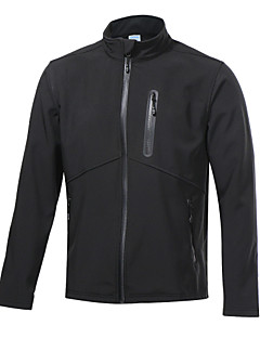 ARSUXEO Men's Fleece Soft Shell Jacket Camping / Hiking / Fishing / Climbing / Leisure Sports /Windproof /