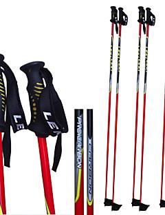 Leki szén sí pole .ski sport kellékek / piros