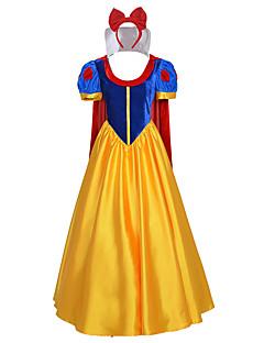 Cosplay-Asut Halloween Props Juhla-asu NaamiaisasuTaikuri/noita Prinsessa Kuningatar Cinderella Merenneito Satuteema Joulupukki-asu