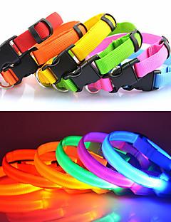 Gulere Lumini LED Ajustabile/Retractabil Mată Nailon