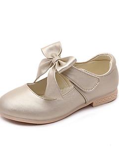 Da ragazza-Ballerine-Casual-ComodaPU (Poliuretano)-Oro Bianco Rosa