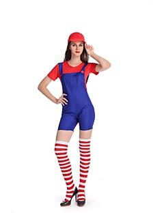 Cosplay Kostuums Rood / Groen / Geel Textiel Binnenwerk Cosplay Accessoires Halloween / Carnaval