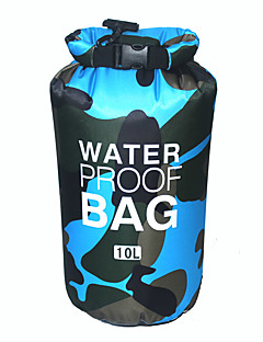 10L Hydration Pack dry bag& Waterproof backpack Camping & Hiking / Climbing / Traveling Waterproof / Wearable / Compact / FloatingYellow / Red /