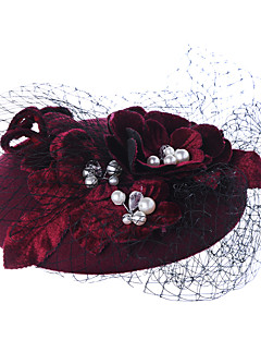 New Graceful Grenadine Flower Hat
